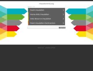 insulationinfo.org screenshot