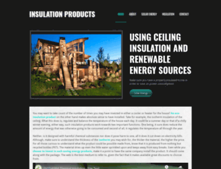 insulationproducts.weebly.com screenshot