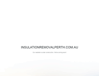 insulationremovalperth.com.au screenshot