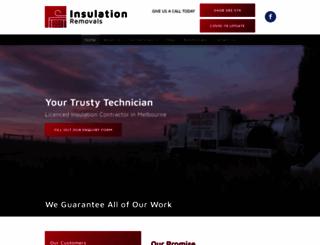 insulationremovals.com.au screenshot