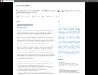 insurance-world-usa.blogspot.kr screenshot