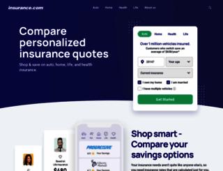 insurance.com screenshot