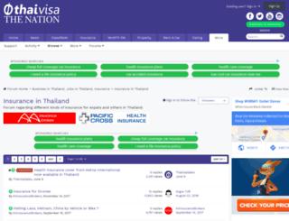 insurance.thaivisa.com screenshot
