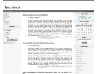 insurance.ucoz.com screenshot