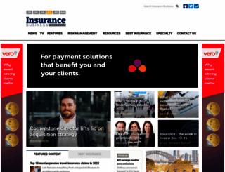 insurancebusinessonline.com.au screenshot