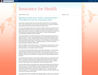insuranceforhealth4you.blogspot.in screenshot