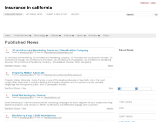 insuranceincalifornia.de.vu screenshot