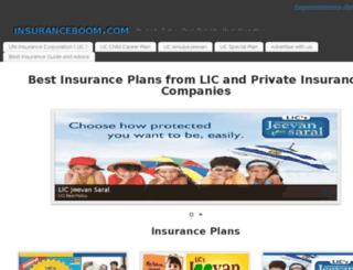insuranceindiamart.com screenshot
