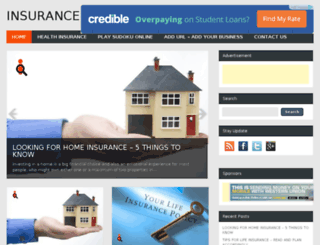 insurancenews.co.in screenshot