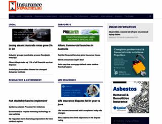 insurancenews.com.au screenshot