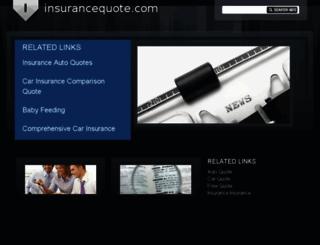 insurancequote.com screenshot