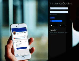insurancequotes.namely.com screenshot