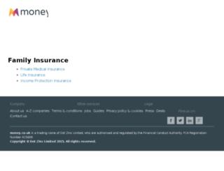 insurances.money.co.uk screenshot