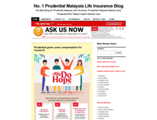 insuransprudential.wordpress.com screenshot