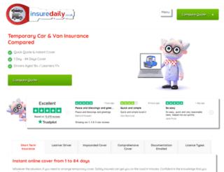 insuredaily.co.uk screenshot