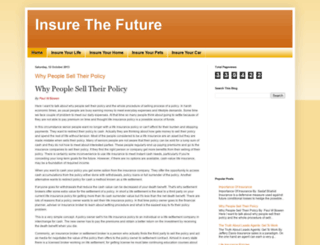 insurethefuture.blogspot.co.uk screenshot