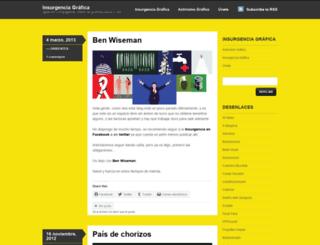 insurgenciagrafica.wordpress.com screenshot
