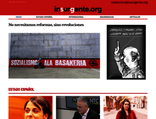 insurgente.org screenshot