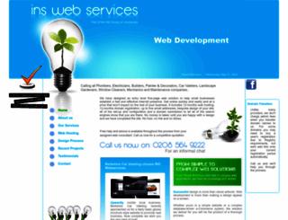 inswebservices.co.uk screenshot