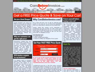 int.carsbelowinvoice.com screenshot