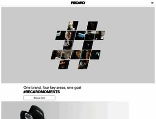 int.recaro-cs.com screenshot