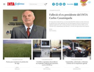 intainforma.inta.gov.ar screenshot
