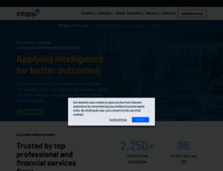 intapp.com screenshot