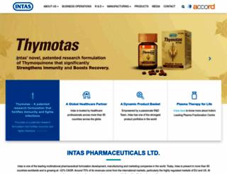 intaspharma.com screenshot