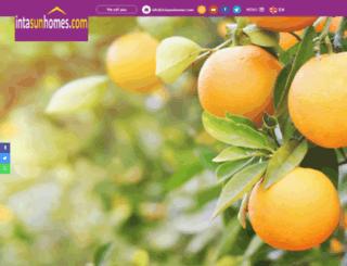 intasunhomes.com screenshot