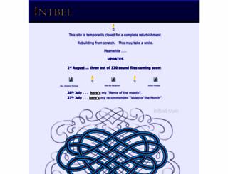 intbel.com screenshot