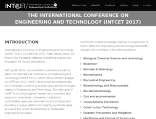 intcet.com screenshot