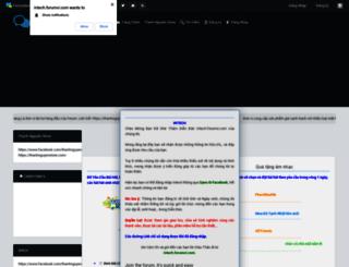 intech.forumvi.com screenshot