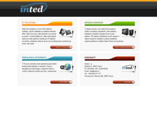 inted.cz screenshot