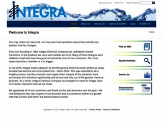 integrachem.com screenshot