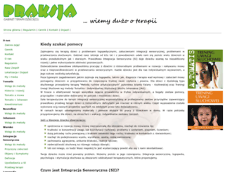 integracjasensoryczna.org screenshot