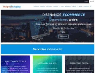 integrainternet.eu screenshot
