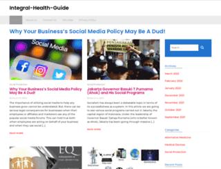 integral-health-guide.com screenshot