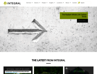 integralgroup.com screenshot