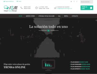 integralsocialmanager.com screenshot