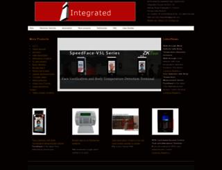 integratedsecurity.in screenshot