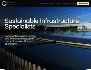 integratedsustainability.ca screenshot