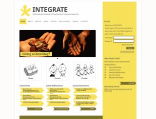 integratenet.st-andrews.ac.uk screenshot