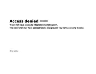integrationmarketing.com screenshot