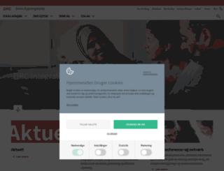 integrationsnet.dk screenshot