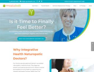 integrativehealthcare.com screenshot