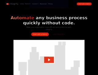 integrify.com screenshot
