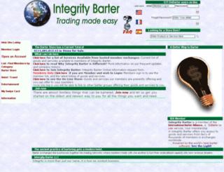 integrity-barter.com screenshot