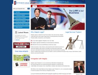 integrity-legal.com screenshot