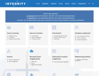 integrity.hu screenshot