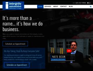 integrityautorepair.com screenshot